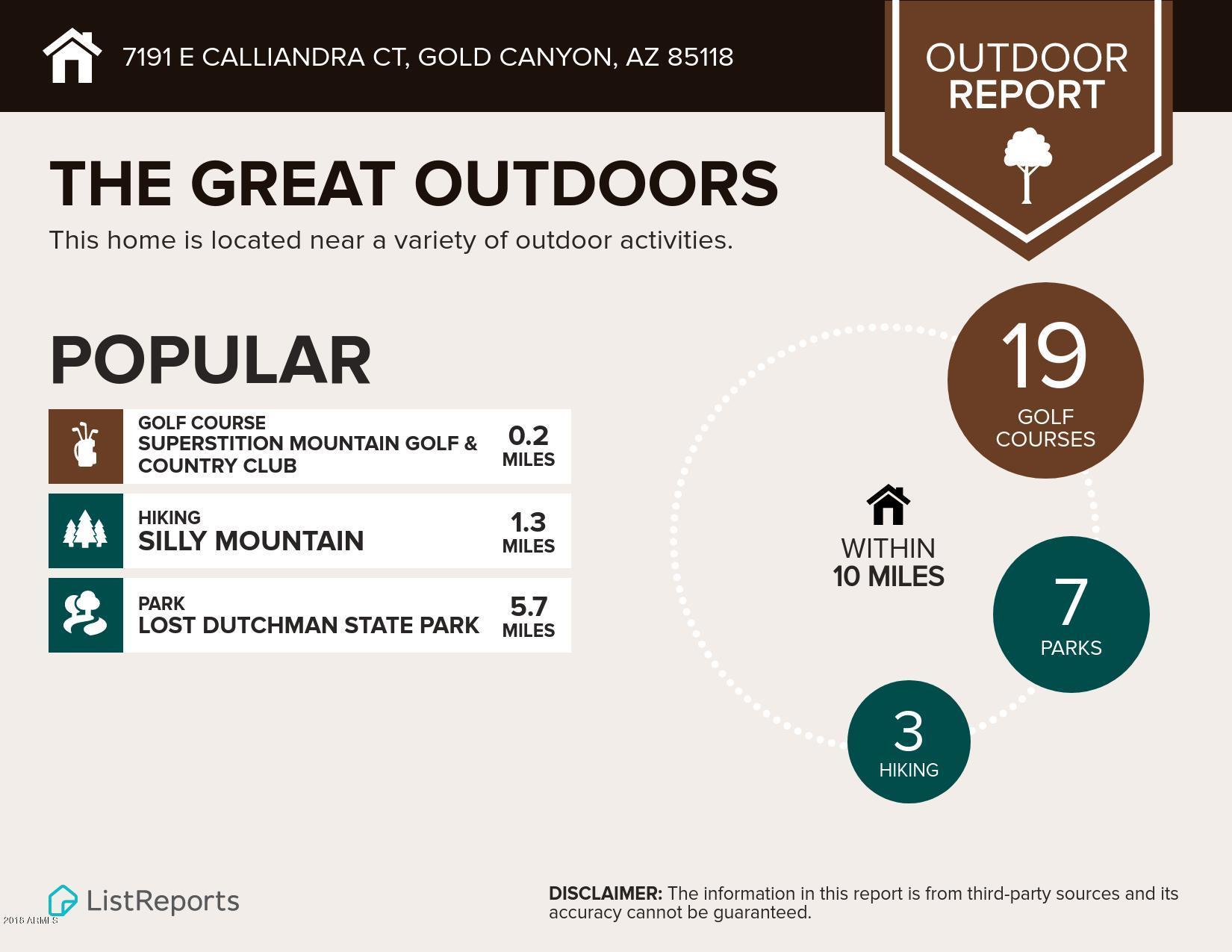 MLS 5708240 7191 E CALLIANDRA Court, Gold Canyon, AZ 85118 Gold Canyon AZ Superstition Foothills