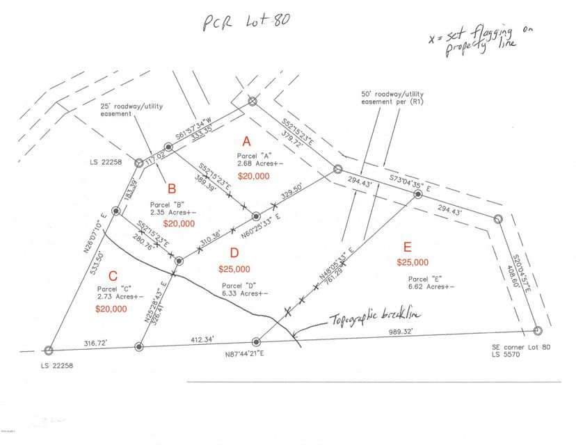 0 N Cow Creek Lot 80 Parcel C Road Morristown, AZ 85342 - MLS #: 5709942