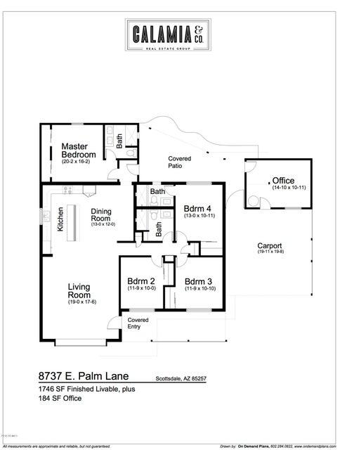 MLS 5711643 8737 E PALM Lane, Scottsdale, AZ 85257 Scottsdale AZ Scottsdale Estates