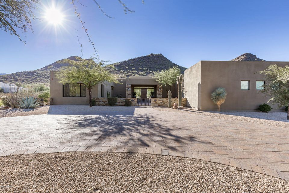 Single Family Home for Sale at 10151 E Foothills Drive 10151 E Foothills Drive Scottsdale, Arizona,85255 United States