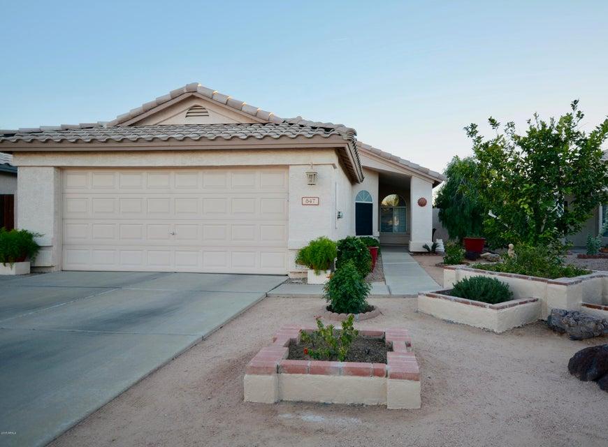Photo of 847 W SILVER CREEK Road, Gilbert, AZ 85233