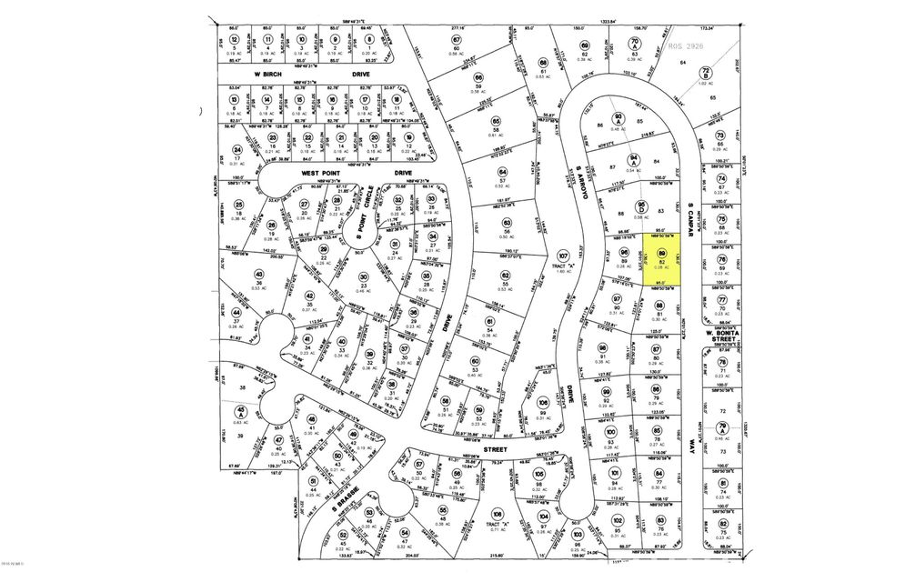MLS 5728583 208 S Canpar Way, Payson, AZ Payson AZ Golf
