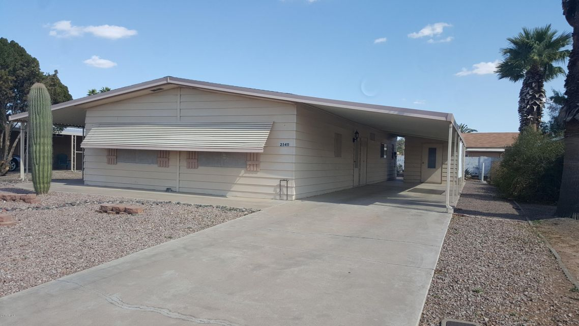 MLS 5728006 25411 S WYOMING Avenue, Sun Lakes, AZ 85248 Sun Lakes AZ Manufactured Mobile Home