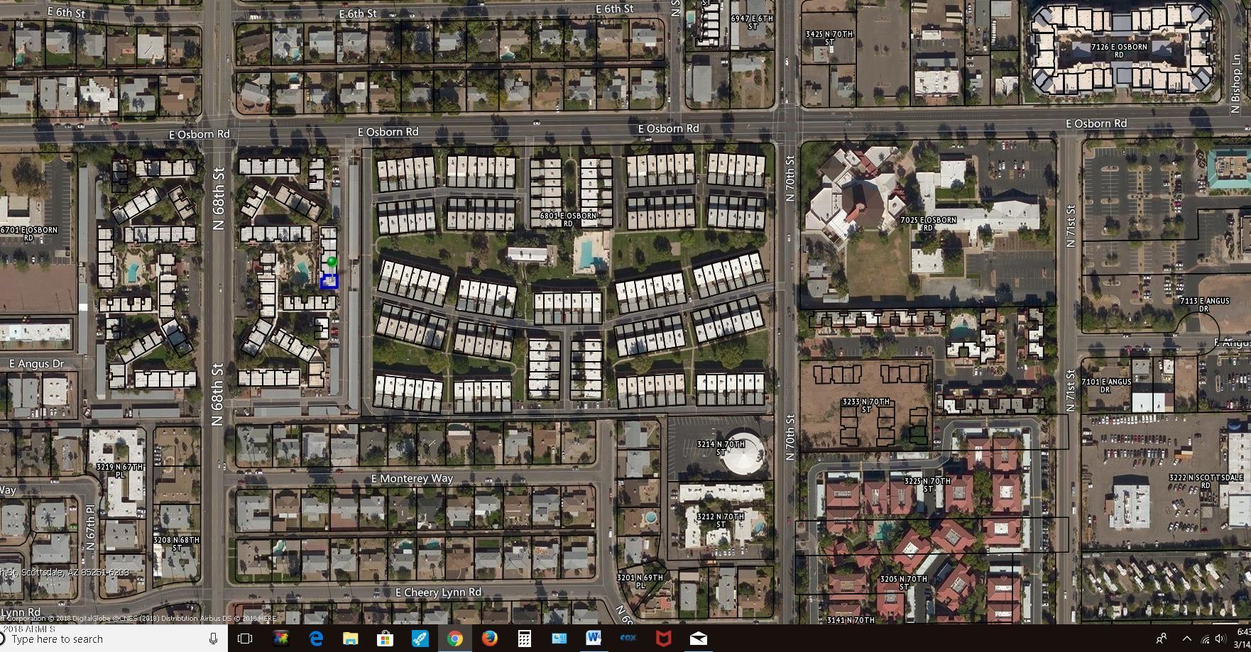 MLS 5737399 3313 N 68TH Street Unit 231, Scottsdale, AZ Scottsdale AZ Gated