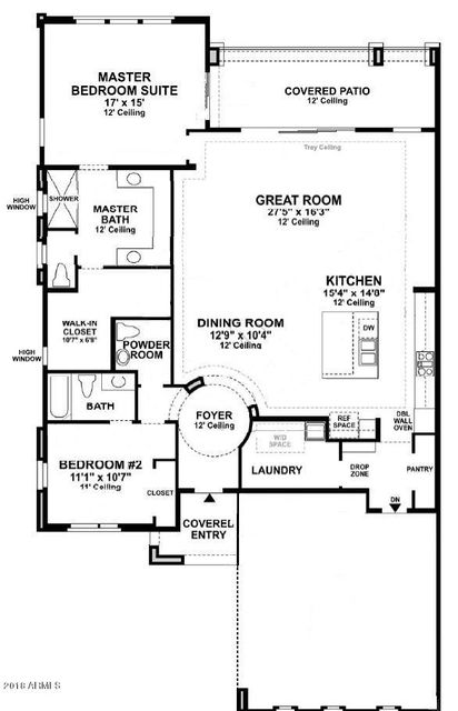 MLS 5737530 16010 E RIDGESTONE Drive, Fountain Hills, AZ 85268 Fountain Hills AZ Newly Built