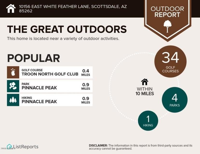 MLS 5686566 10156 E WHITE FEATHER Lane, Scottsdale, AZ 85262 Scottsdale AZ Troon North