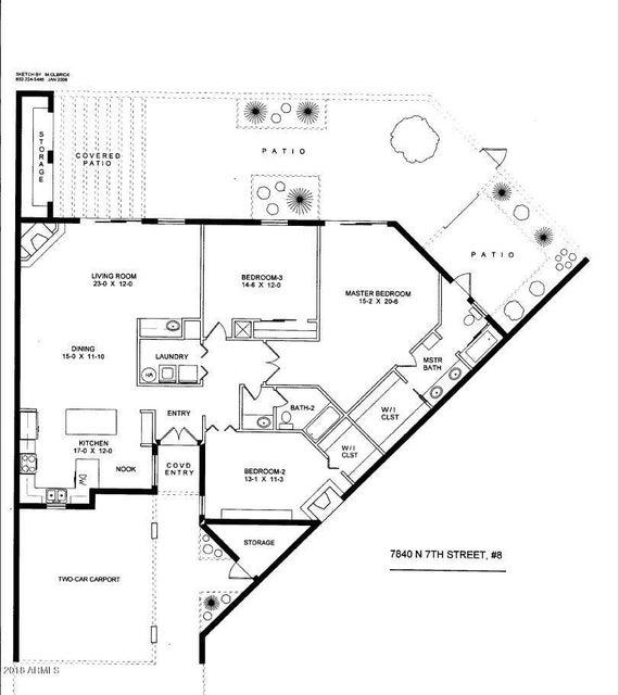 MLS 5739094 7840 N 7TH Street Unit 8, Phoenix, AZ 85020 Phoenix AZ Barcelona