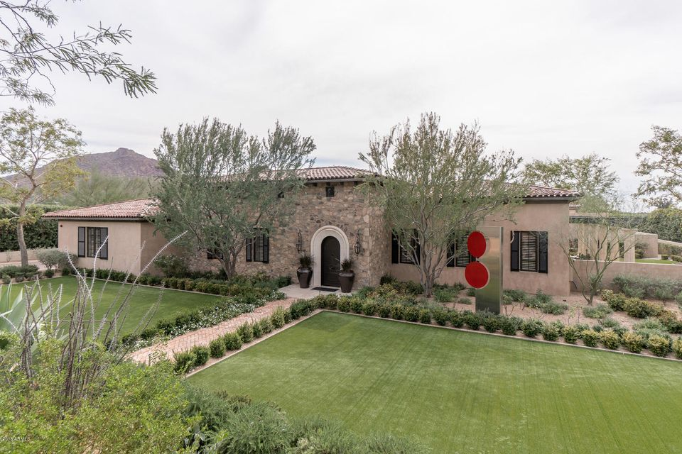 Single Family Home for Sale at 5239 E Palo Verde Place 5239 E Palo Verde Place Paradise Valley, Arizona,85253 United States