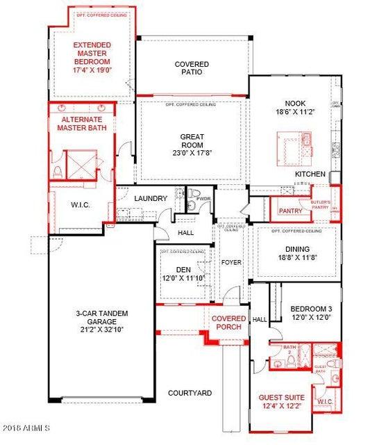 MLS 5742721 2316 E MAHOGANY Place, Chandler, AZ 85249 Chandler AZ Three Bedroom