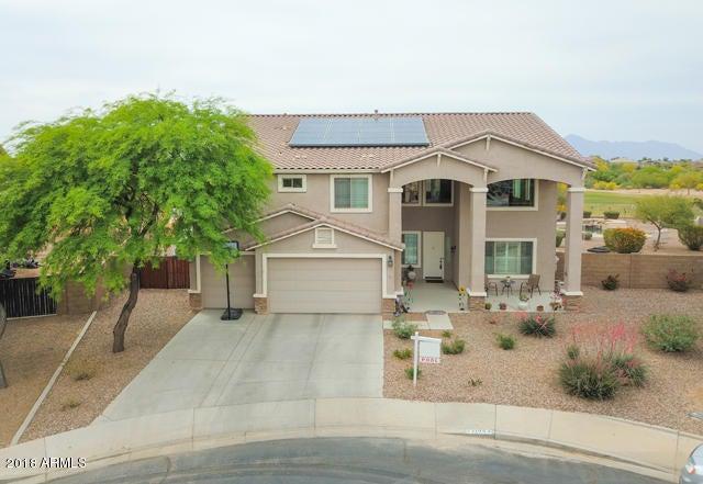 MLS 5752837 21954 N OLSON Court, Maricopa, AZ 85138 Maricopa AZ Homes 10,000 Plus SqFt Lot