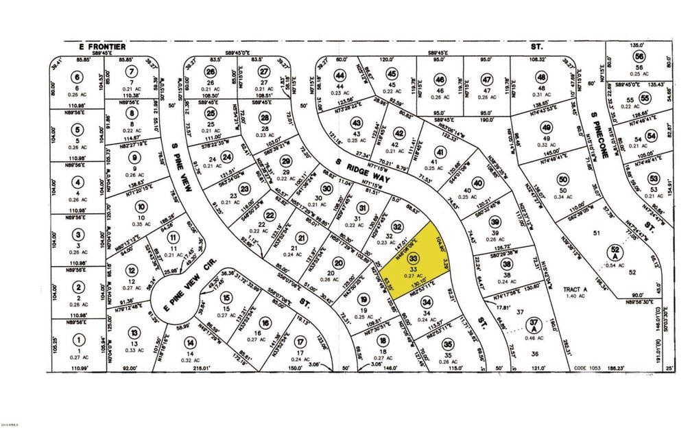 MLS 5741318 906 S Ridgeway Street, Payson, AZ Payson AZ Scenic