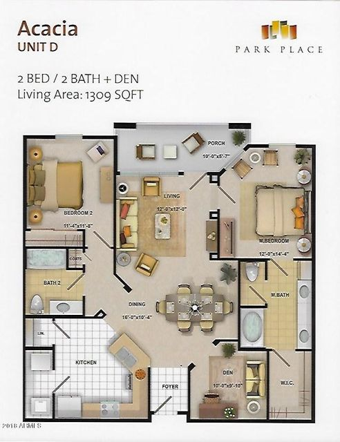 14575 W MOUNTAIN VIEW Boulevard Unit 11321 Surprise, AZ 85374 - MLS #: 5764033