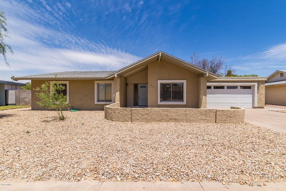 MLS 5770407 930 W ISABELLA Avenue, Mesa, AZ 85210 Mesa AZ West Mesa