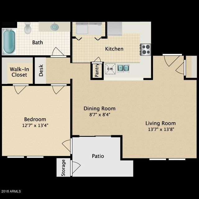 MLS 5777910 20100 N 78TH Place Unit 1071 Building 34, Scottsdale, AZ Scottsdale AZ Gated