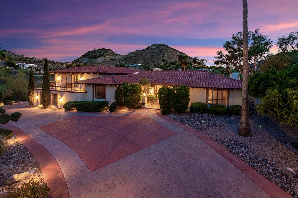 7242 N BLACK ROCK Trail, Paradise Valley AZ 85253