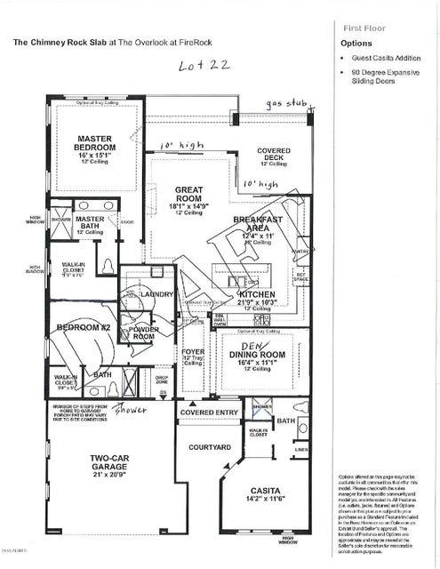 MLS 5778577 16117 E RIDGESTONE Drive, Fountain Hills, AZ 85268 Fountain Hills AZ Firerock