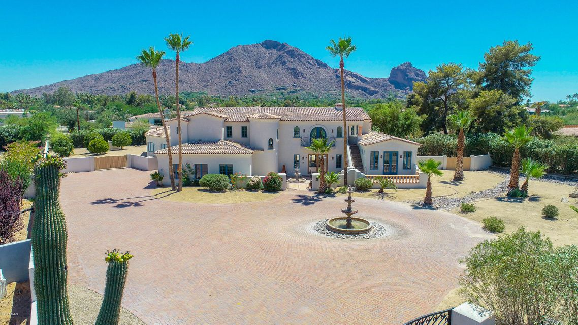 MLS 5779164 6101 E CACTUS WREN Road, Paradise Valley, AZ Paradise Valley AZ Equestrian