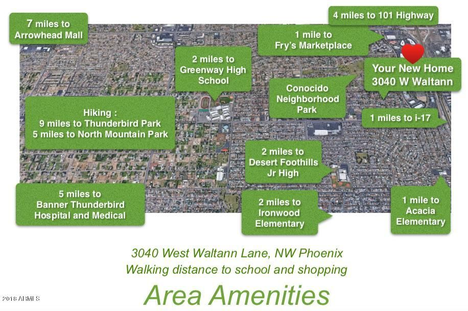 MLS 5780972 3040 W WALTANN Lane, Phoenix, AZ 85053 Phoenix AZ Estrella