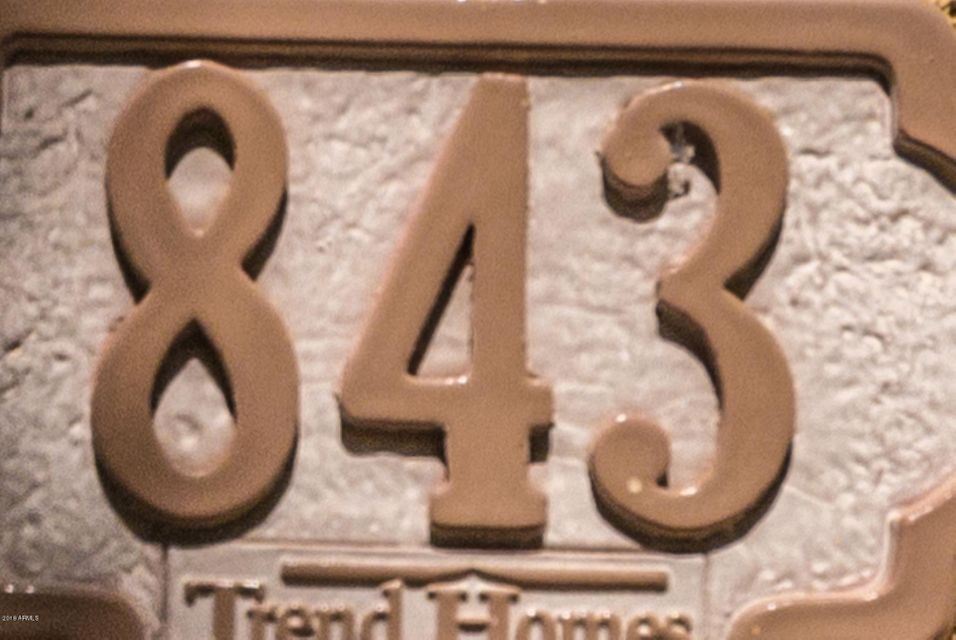 MLS 5783538 843 S Henry Lane, Gilbert, AZ Gilbert AZ Cooley Station