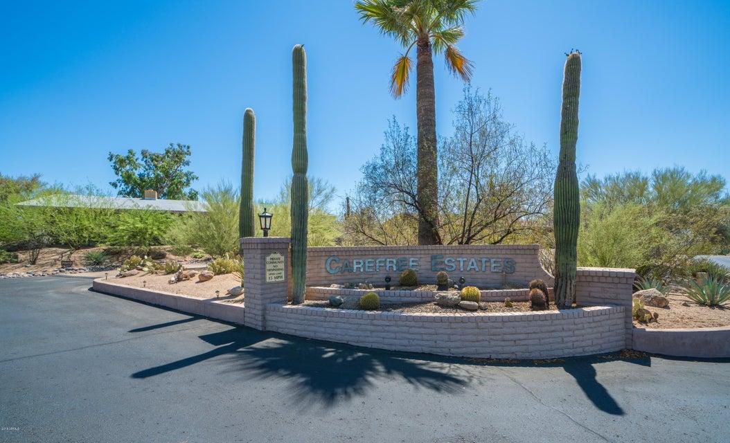 MLS 5784881 7802 E Carefree Estates Circle, Carefree, AZ Carefree AZ Scenic