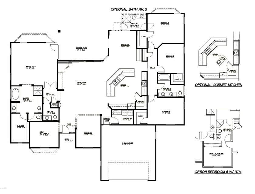 MLS 5787462 28224 N BUSH Street, Wittmann, AZ Wittmann AZ Newly Built