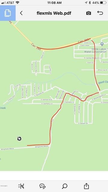MLS 5780888 3910 Wingfield Mesa --, Camp Verde, AZ Camp Verde AZ Equestrian