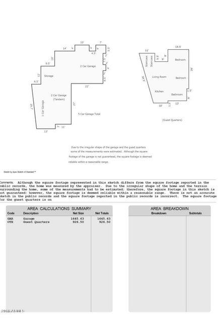 MLS 5794044 9533 E QUAIL Trail, Carefree, AZ 85377 Carefree AZ Guest House