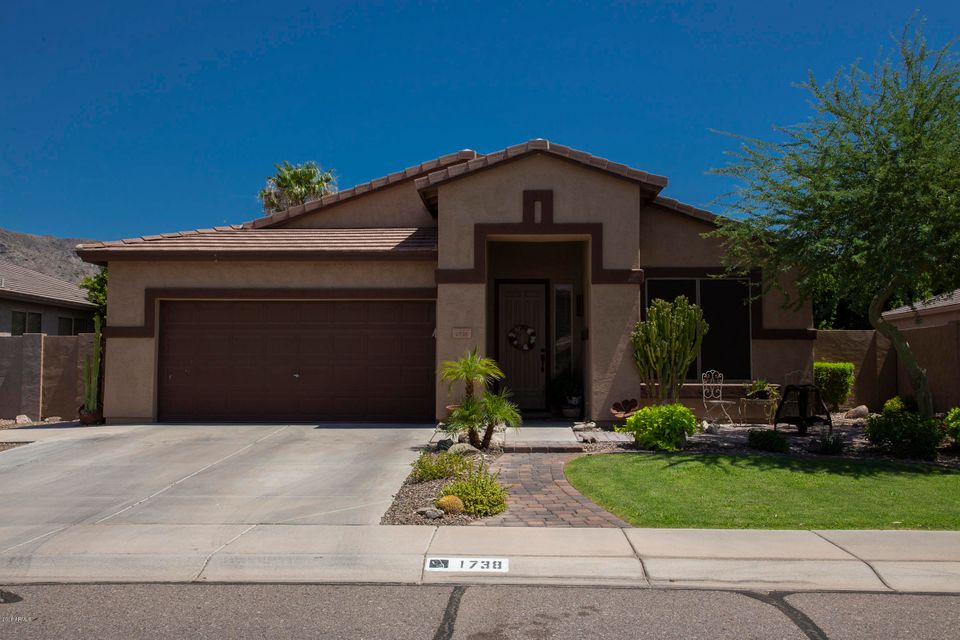 1738 W FRYE Road, Ahwatukee-Ahwatukee Foothills in Maricopa County, AZ 85045 Home for Sale