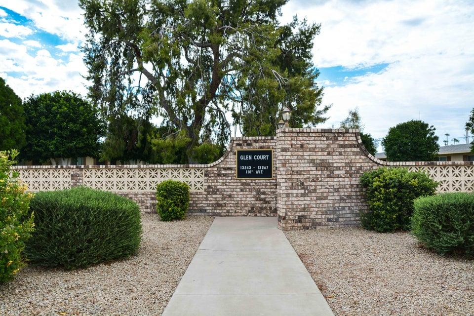 MLS 5804274 13245 N 110TH Avenue, Sun City, AZ Sun City AZ Golf