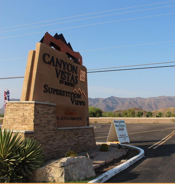 MLS 5810485 6601 E US HIGHWAY 60 -- Unit 849, Gold Canyon, AZ Gold Canyon AZ Golf Mountain View