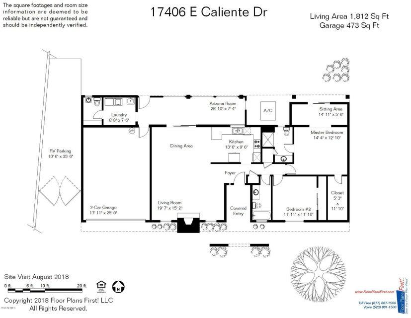 MLS 5813721 17406 E CALIENTE Drive, Fountain Hills, AZ 85268 Fountain Hills AZ Affordable