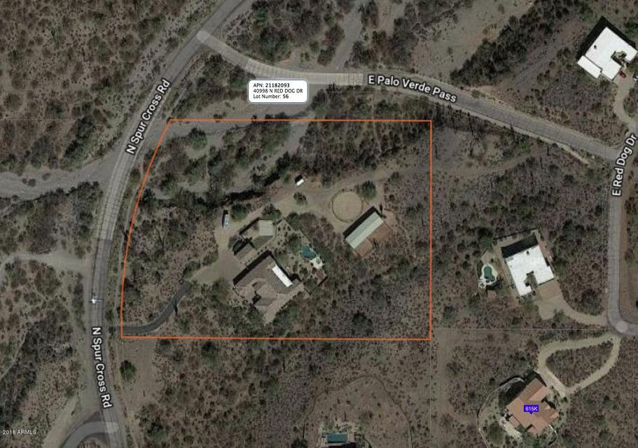 MLS 5816410 40985 N SPUR CROSS Road, Cave Creek, AZ 85331 Cave Creek AZ Three Bedroom