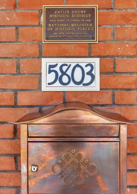 MLS 5818114 5803 W GARDENIA Avenue, Glendale, AZ Glendale AZ Historic