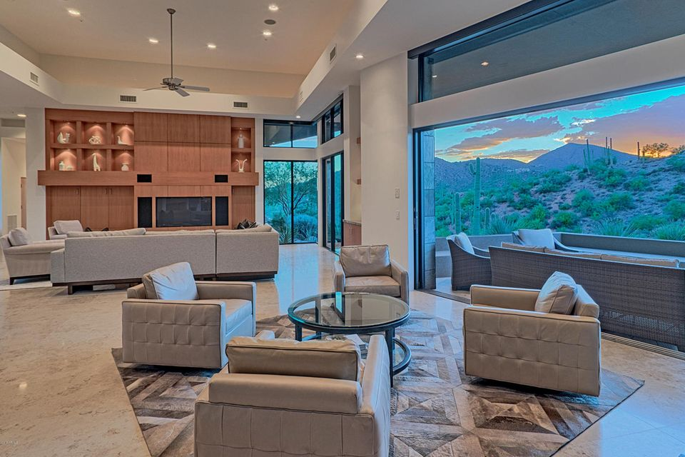 One of Desert Mountain 5 Bedroom Homes for Sale at 42180 N 97TH Way