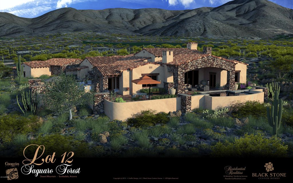 One of Desert Mountain 4 Bedroom Homes for Sale at 41617 N STONE CUTTER Drive