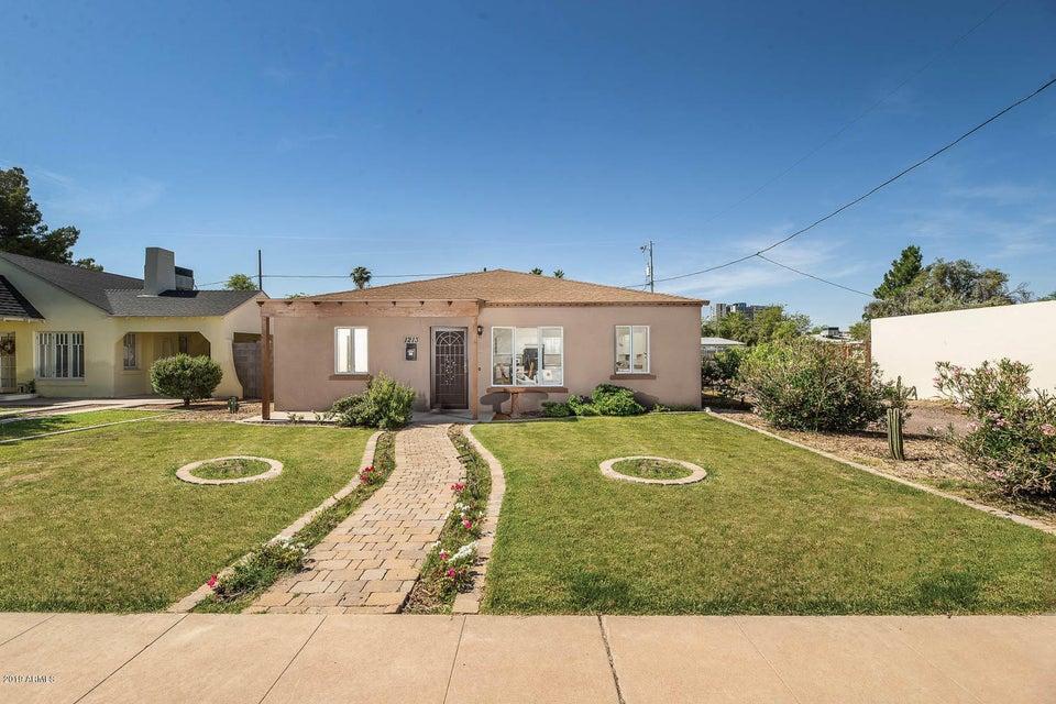 1213 E Monte Vista Road Phoenix Az 85006 Retro Real Estate