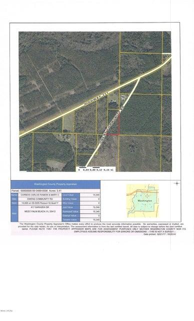 00 OWENS COMMUNITY Road, Vernon, FL 32462