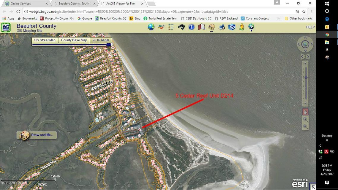 5 Cedar Reef Drive D216, Harbor Island, SC 29920
