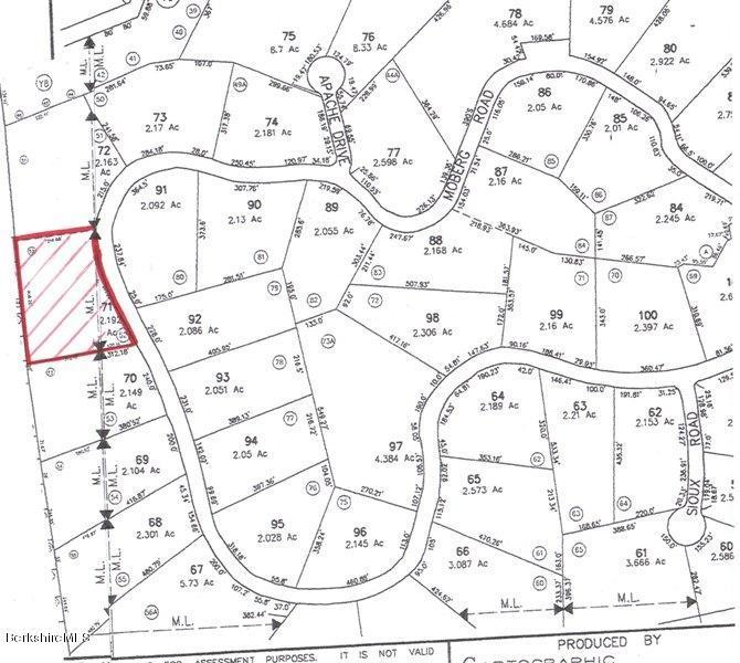 Lot 71 Moberg, Becket, MA 01223