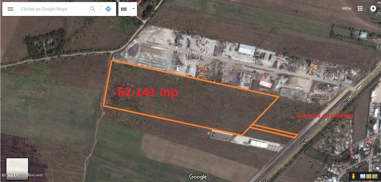 Vanzare Teren Extravilan 62141 m²