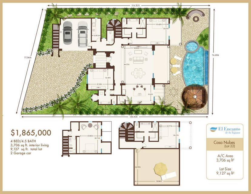 El Encanto, Home Site #22--1