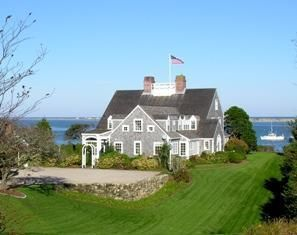 Chatham Real Estate - Cape Cod Antique Waterfront , 132 Shore Road, Chatham, MA   Listed at $5,950,000