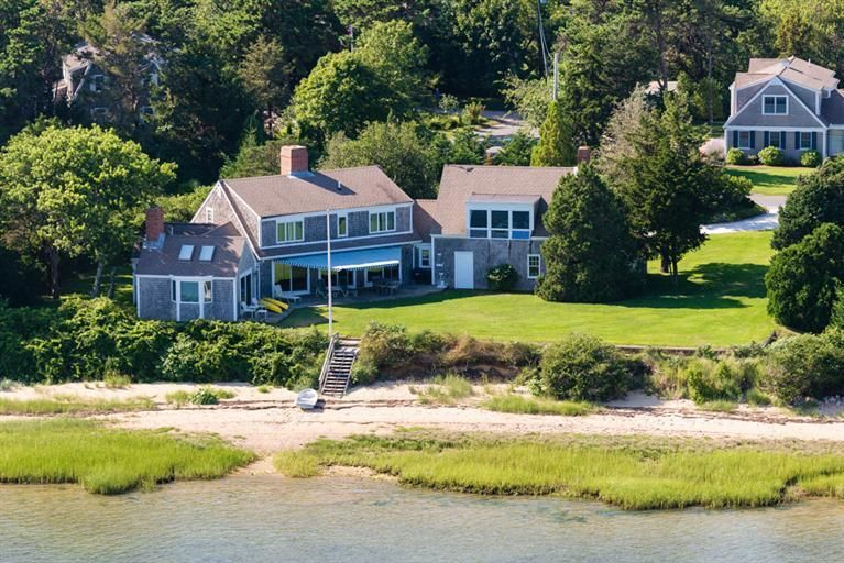 Chatham Real Estate - Cape Cod Waterfront , 34 Old Salt Works Road, Chatham, MA   Listed at $2,465,000