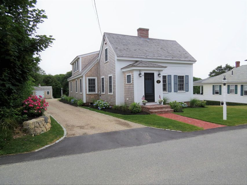 Chatham Real Estate - Cape Cod Antique , 61 School Street, Chatham, MA   Listed at $2,195,000
