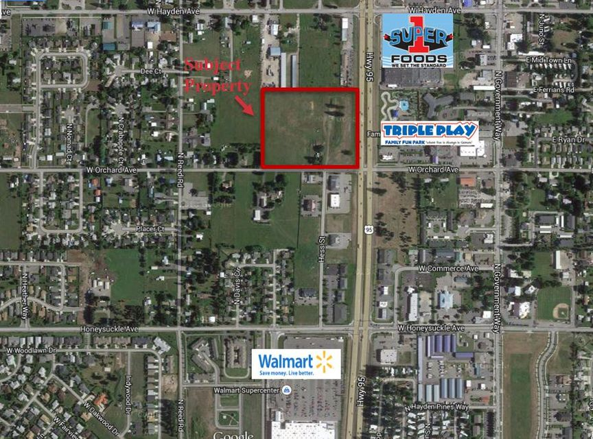 Land for Sale at 419 W ORCHARD Avenue 419 W ORCHARD Avenue Hayden, Idaho 83835 United States