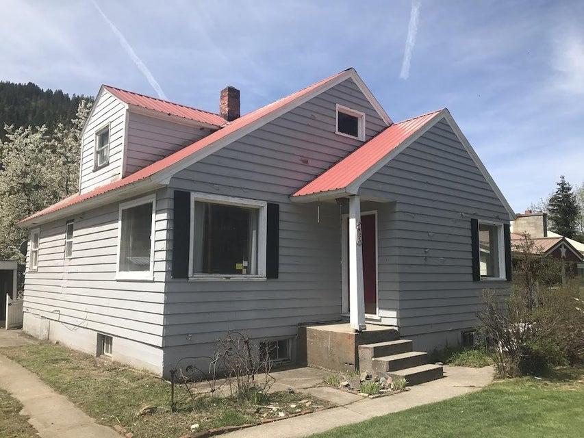 Single Family Home for Sale at 1225 E Mullan Avenue 1225 E Mullan Avenue Osburn, Idaho 83849 United States