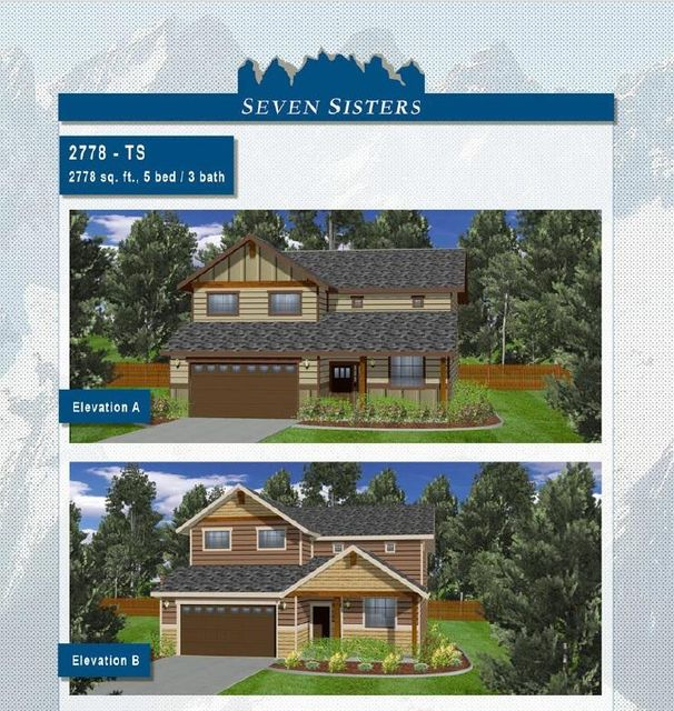 Single Family Home for Sale at 280 TBB Seven Sisters Drive 280 TBB Seven Sisters Drive Kootenai, Idaho 83840 United States