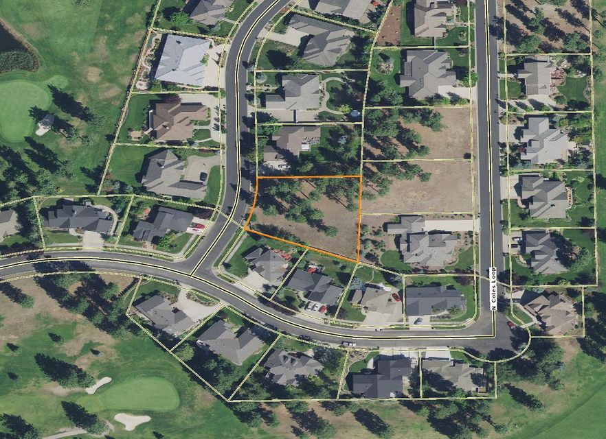 1/2 acre building lot in the very sought after Highlands Golf Course neighborhood.  This is a great price for a stellar lot!
