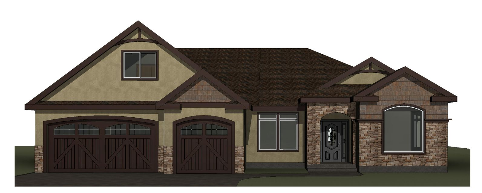 Absolutely phenomenal new construction at the Highlands Golf Course neighborhood.  3 bedroom 3 bath home includes an office, an incredible gourmet kitchen, lavishly appointed master suite and more.  This builder's attention to detail and sense of craftsmanship will mesmerize even the most discerning new homeowner.