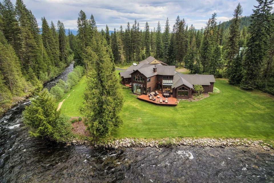 Single Family Home for Sale at 500 Heavenly Lane 500 Heavenly Lane Priest Lake, Idaho 83856 United States